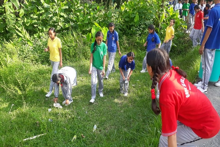 Government Senior Secondary School-Cleanliness