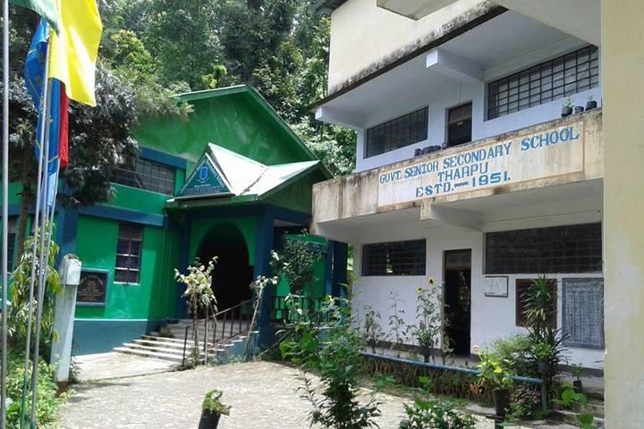 Government Senior Secondary School-School Entrance