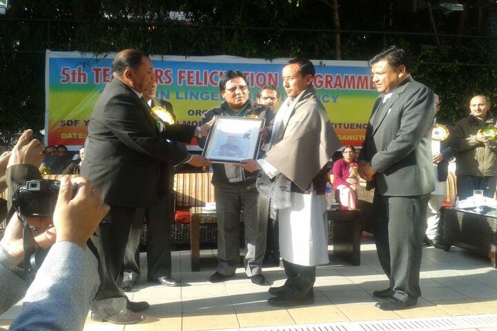 Government Senior Secondary School-Felicitation Program