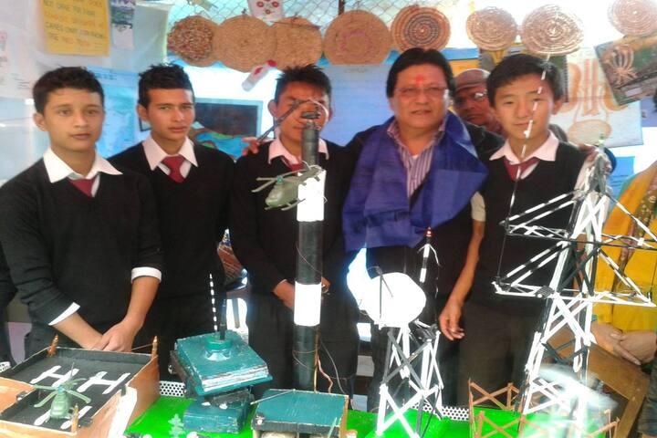 Government Senior Secondary School-School Exhibition