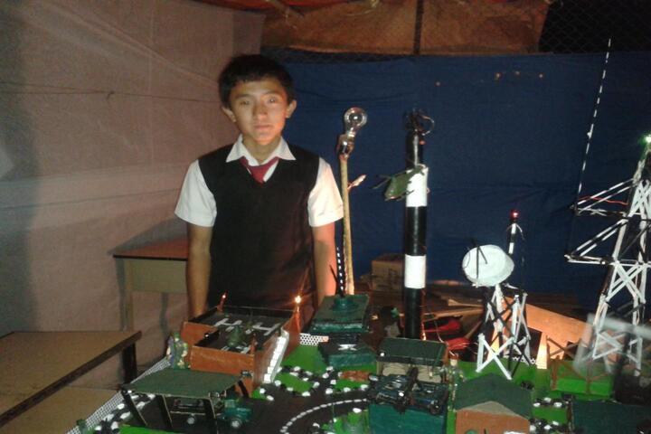 Government Senior Secondary School-Science Exhibition