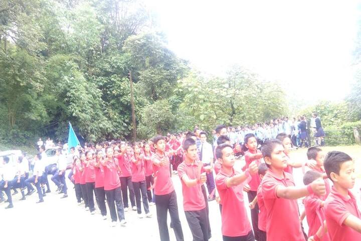 Government Senior Secondary School-March Past
