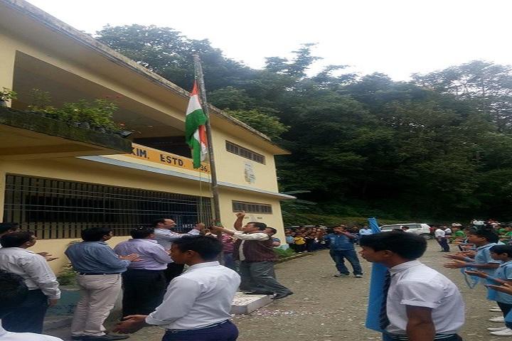 Government Senior Secondary School-Flag Hosting