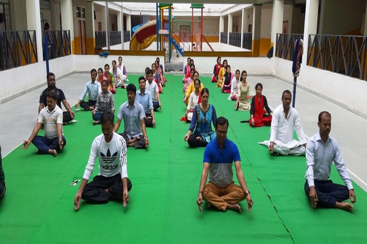 Mount Litera Zee School Bihta- Yoga Day Celebrations