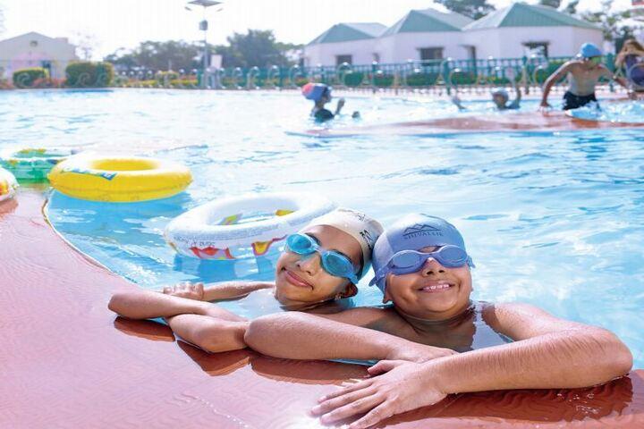 Bhashyam Blooms-Swimming Pool