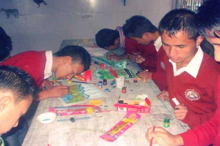 Padma Odzer Choeling Secondary School-Art and craft