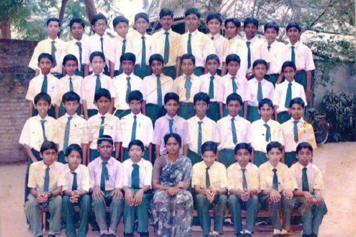 A J C English School-Students1