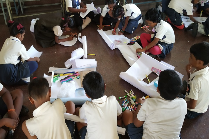 A K T Memorial Vidya Saaket School-Art1