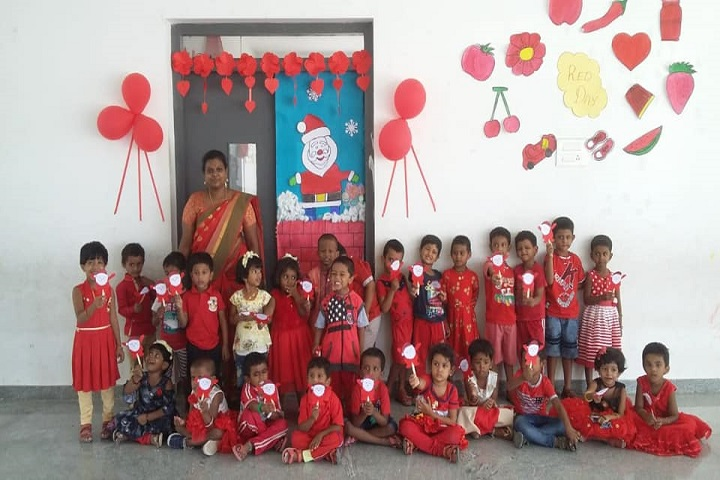Aaa International School-Red Day