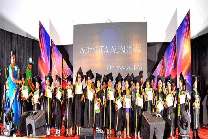 Achyuta Academy School-Farewell