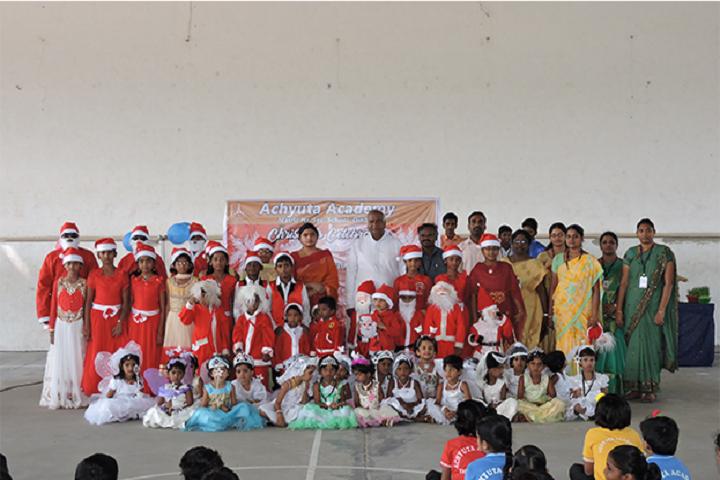 Achyuta Academy School-Christmas Day