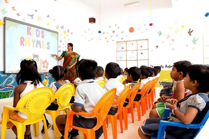 Achyuta Academy School-Classroom