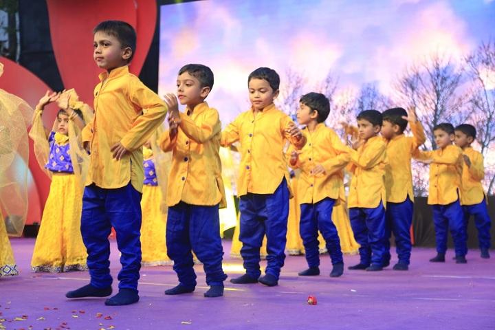 Adarsh Vidya Kendra-Yellow Day