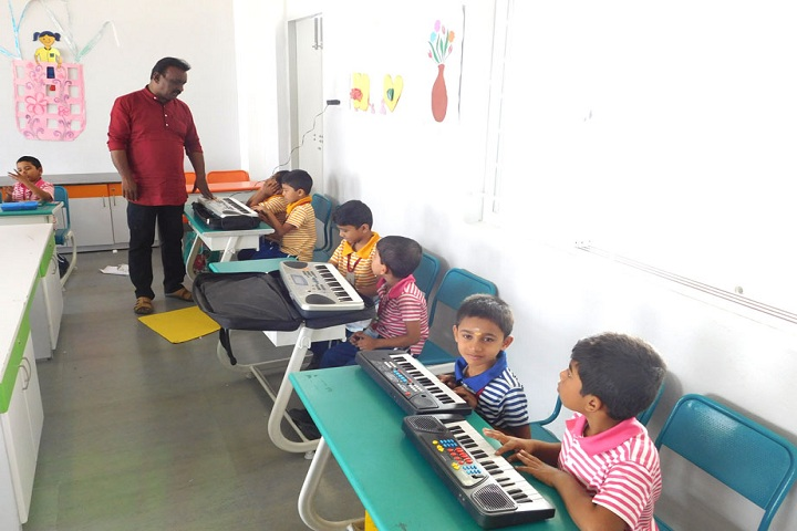 Adharsh Vidhyalaya Public School-Music