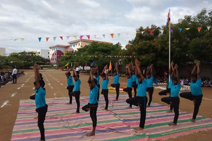 Adharsh Vidhyalaya Public School-Yoga