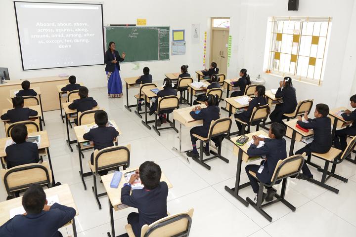 Adhiyaman Public School-Class