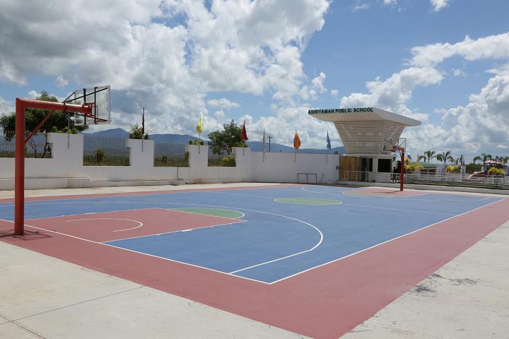 Adhiyaman Public School-Sports Ground