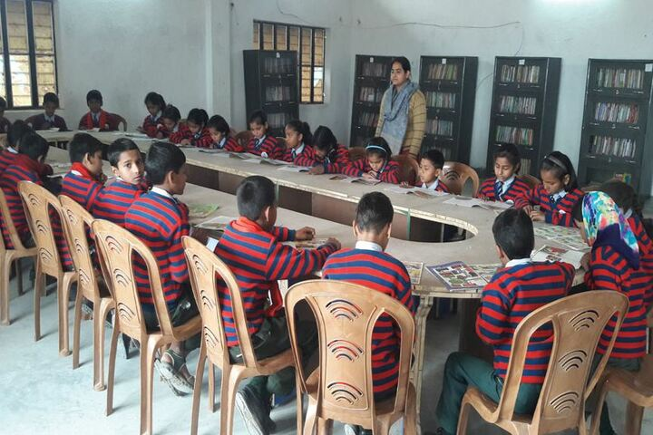 National Herald Public School-Library