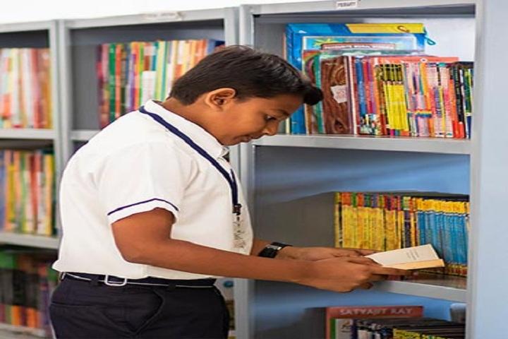 Adithya International School-Library