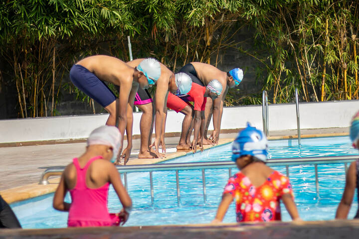 Adithya International School-Swimming Pool