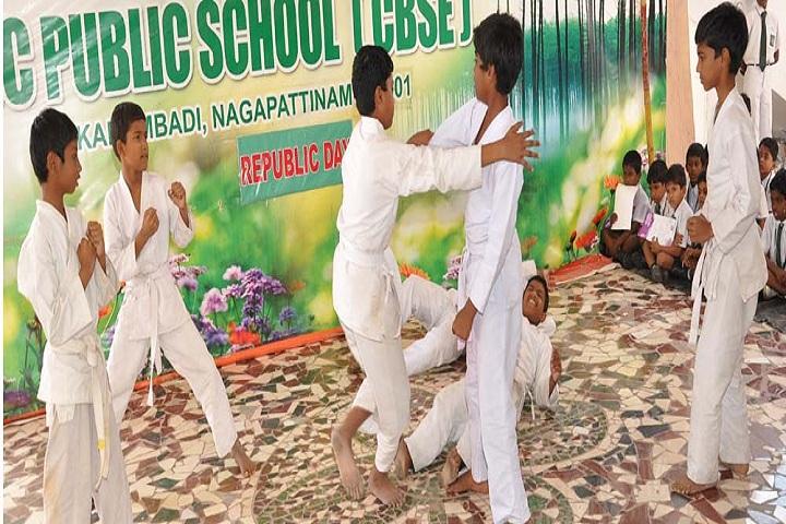 Ajc Public School-Karate