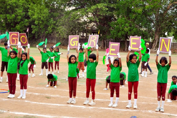 Akg Public School-Green day