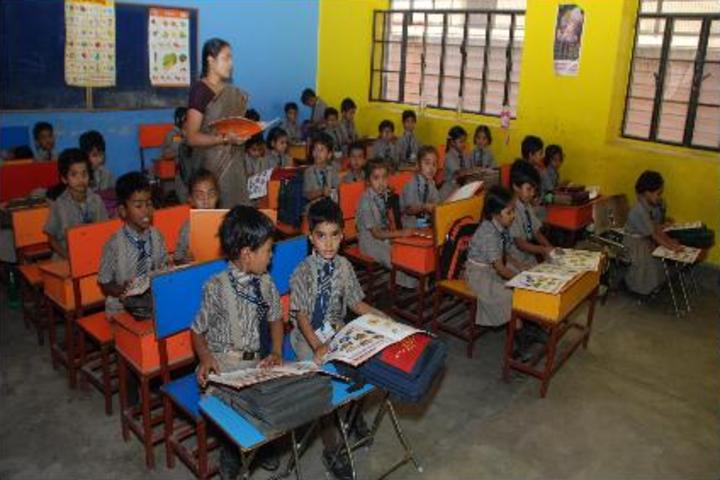 Navyug Vidyalaya-Classroom