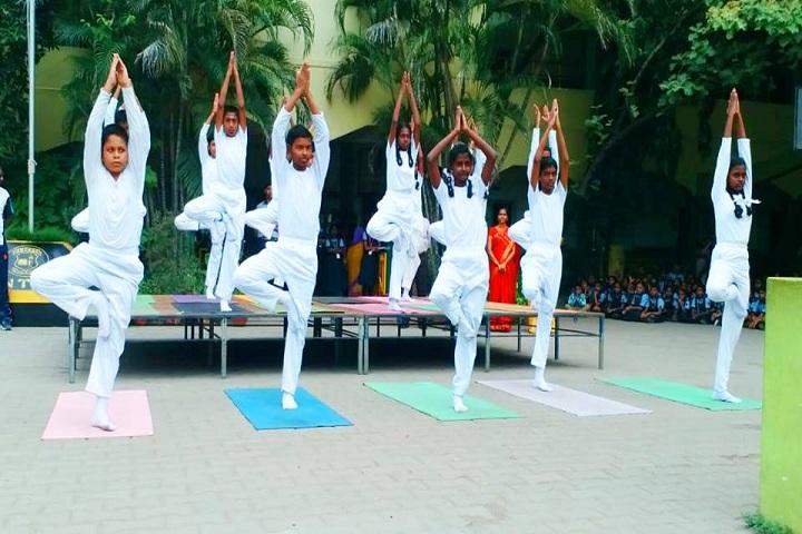 Alwin Memorial Public School-Yoga