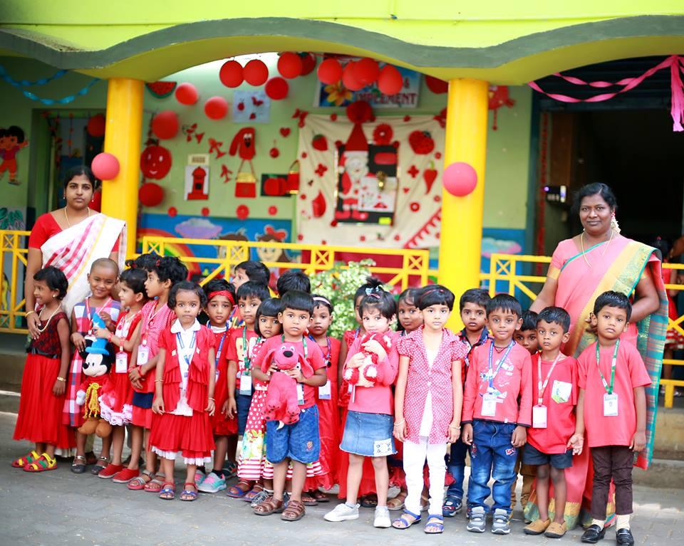 Alwin Memorial Public School-Red day
