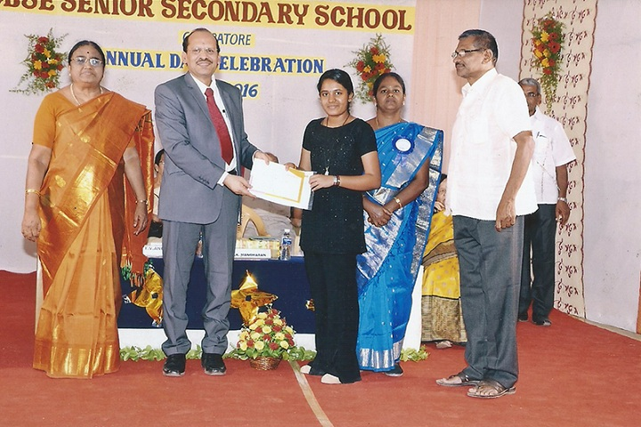 Angappa Education Trust Senior secondary School-Annual day