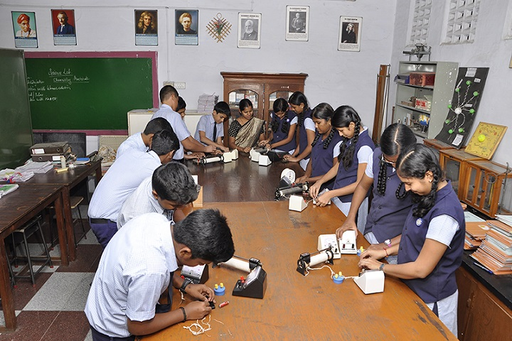 Angappa Educational Trust Senior Secondary School-Laboratory