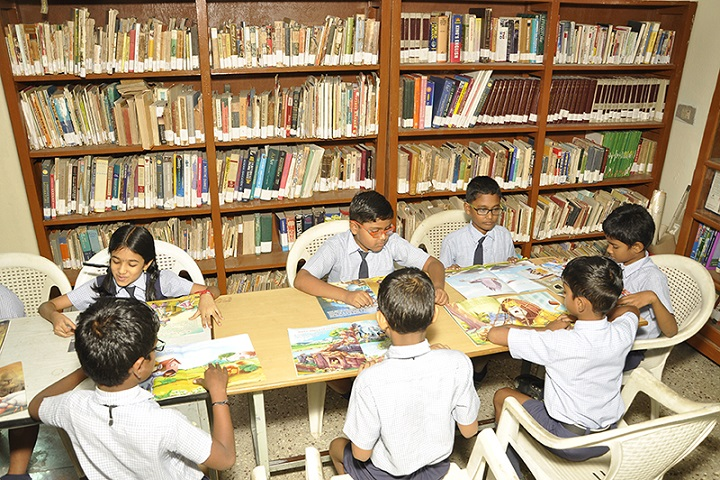Angappa Educational Trust Senior Secondary School-Library