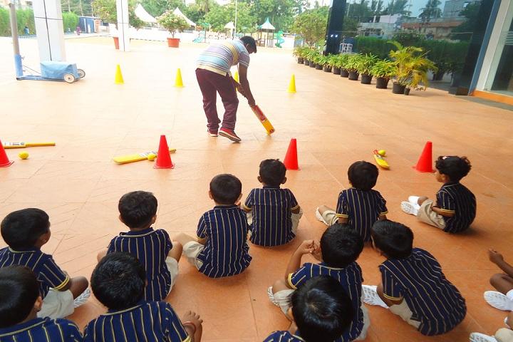 Annai Violet International School-Playing