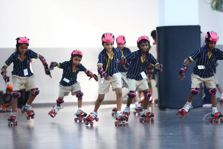 Annai Violet International School-Skating