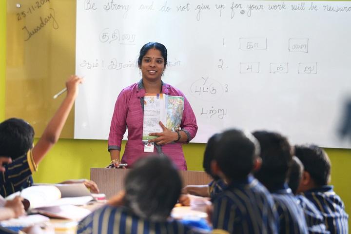Annai Violet International School-Class