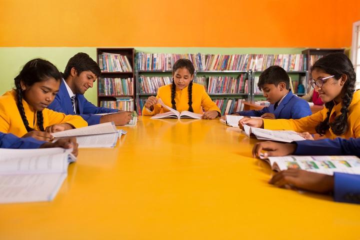 Anugraha Mandhir-Library