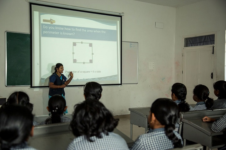 A R B International School-Classroom