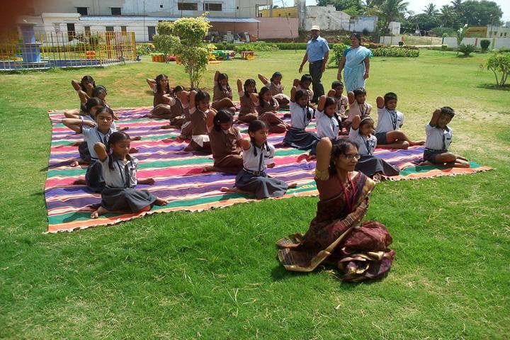 Arya Vidhyasshram International Residential School-Yoga