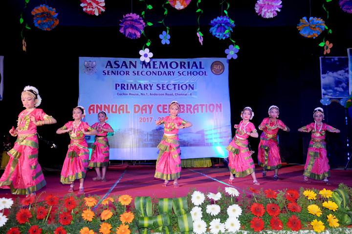 Asan Memorial senior secondary School-Annual day