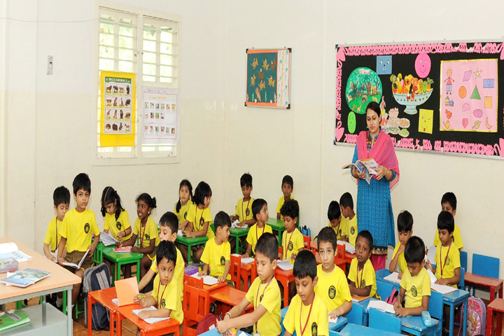 Asan Memorial senior secondary School-Classroom