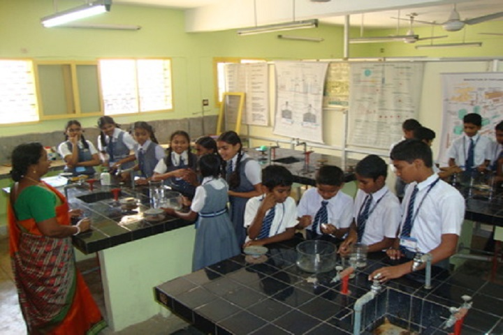 Atomic Energy Central School-Chemistry-Lab
