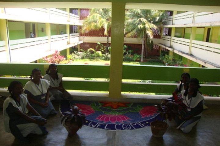 Atomic Energy Central School-Rangoli