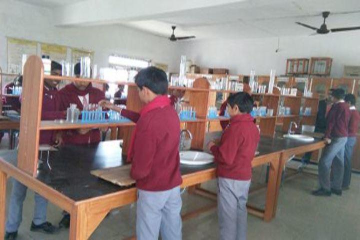 New Gyan Bharti International School-Science Lab