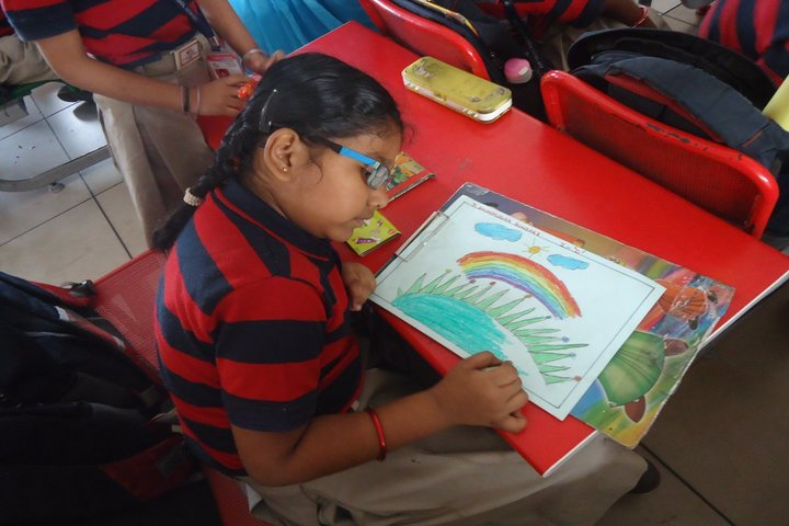 AVP Trust Public School-Drawing Activity