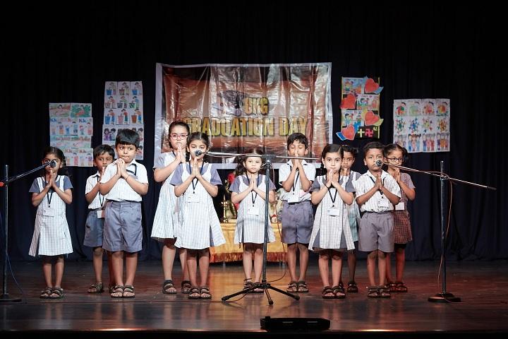 B V bhavans rajaji vidyashram-UKG Graduation Day
