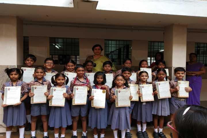 B V bhavans rajaji vidyashram-Spell bee International Competition