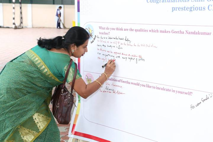 B V bhavans rajaji vidyashram-Teachers Day Celebrations