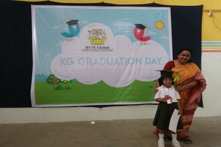 B V M Global-KG Graduation ceremony