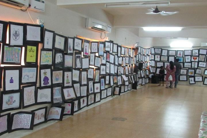 B V M Global Bollineni Hill Side-Art Exhibition