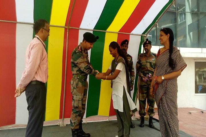 B V M Global Bollineni Hill Side-Raksha Celebrations